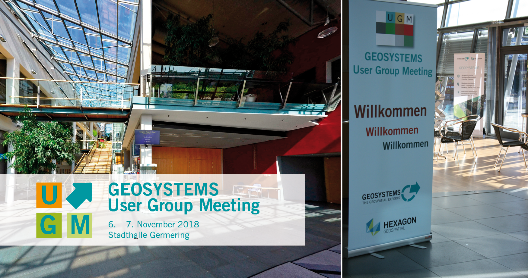 Bildergebnis für geosystems user group meeting 2018